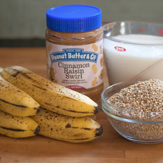 Make-Ahead Peanut Butter Banana Oatmeal