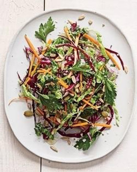 Winter Slaw Of Kale And Cabbage Recipe
