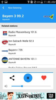 German Radio - screenshot