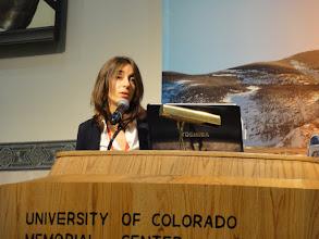 Photo: Dr. Julie Castillo-Rogez, JPL