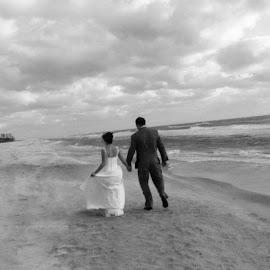 Forever by Brenda Shoemake - Wedding Bride & Groom