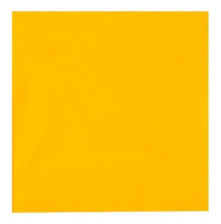 Servett 1-l 33x33cm gul 250/fp