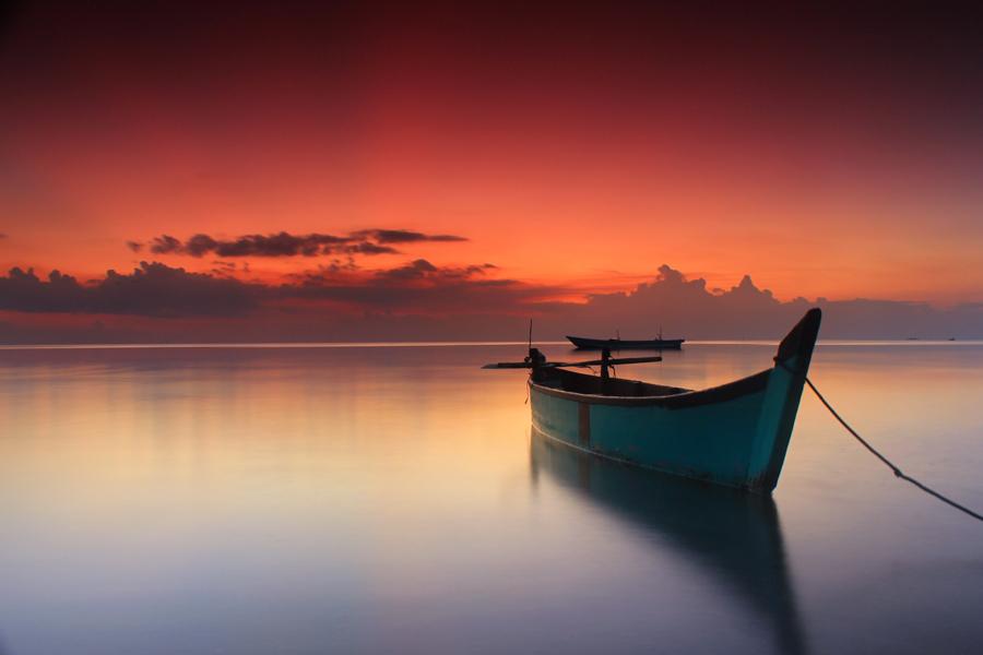Perahu by Teguh Satriyo - Transportation Boats