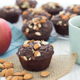 Skinny Dark Chocolate Chunk Muffins.