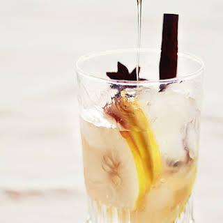 Apple, Cinnamon and Honey Infused Water.