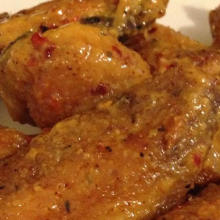 Yellow Mustard Chicken Wings Recipes