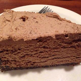 5 Minute Chocolate Cheesecake.