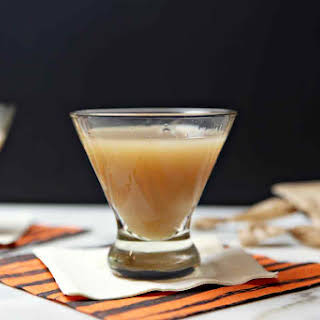 Salted Caramel Appletini with Salted Caramel-Infused Vodka.