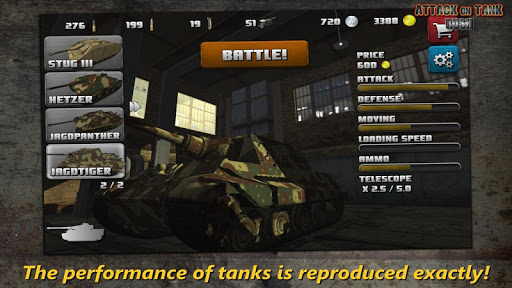 Attack on Tank : Rush - World War 2 Heroes screenshots 1