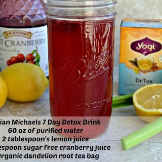Jillian Michaels' 7 Day Detox Drink