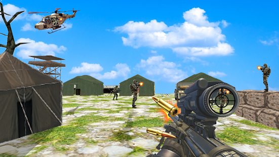Commando combat shoot 3D- screenshot thumbnail