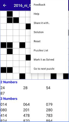 Number Fill in puzzles - Numerix, numeric puzzles 6.6 Screenshots 8