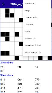Number Fill in puzzles – Numerix, numeric puzzles 7