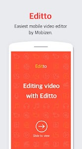 Editto - Mobizen video editor, game video editing 1.1.3.1