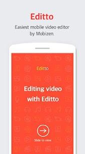 Editto – Mobizen video editor, game video editing 1