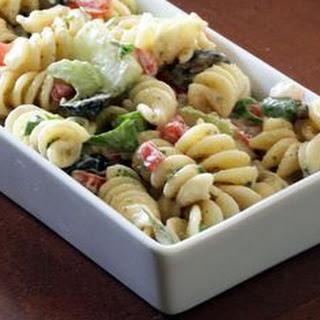 Artichoke and Tortellini Pasta Salad.
