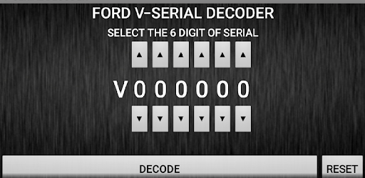 V-Serial Radio Code Decoder - Apps on Google Play