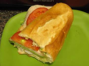 Herb Turkey sandwich