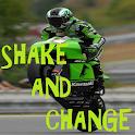 Superbike SHAKE and Change LWP icon