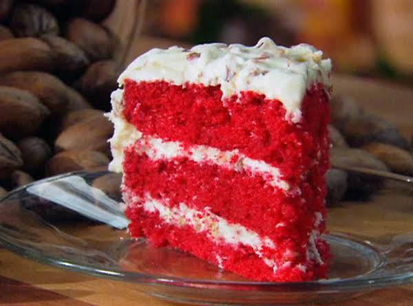 Lisa's Red  Velvet Cake Recipe