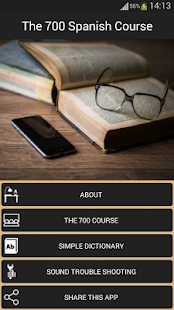 The 700 Spanish Course screenshot