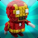 Superhero Figure Speed Build icon
