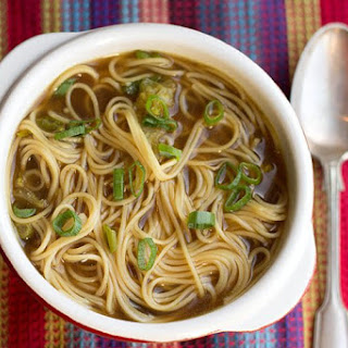 Quick & Easy Chinese Noodle Soup.