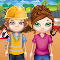 Pretend Play Construction Worker icon