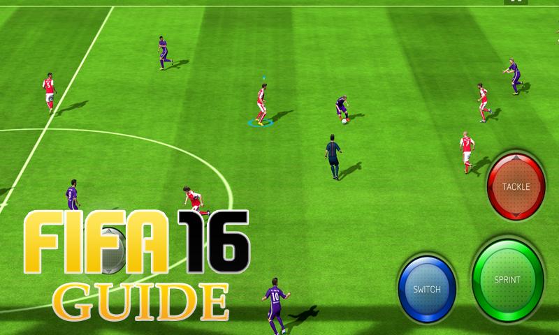 android Leitfaden FIFA 16 GamePlay Screenshot 9