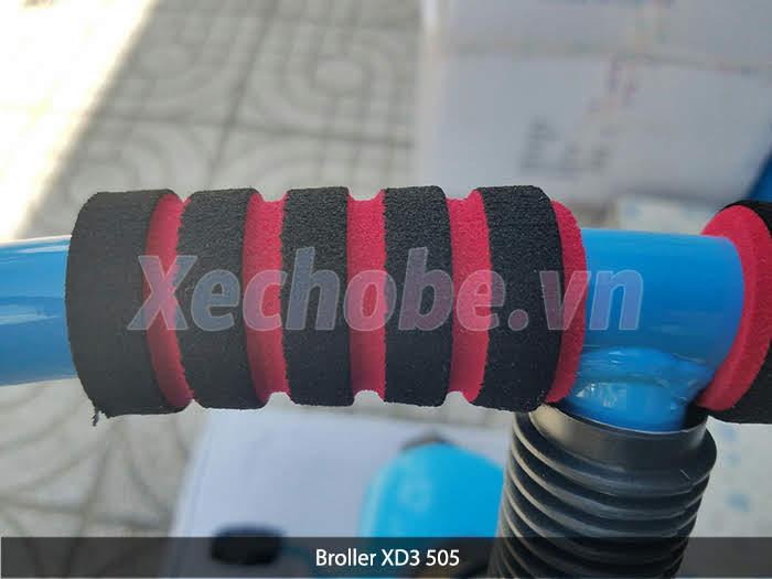 tay đông xe đạp 3 bánh broller xd3-505