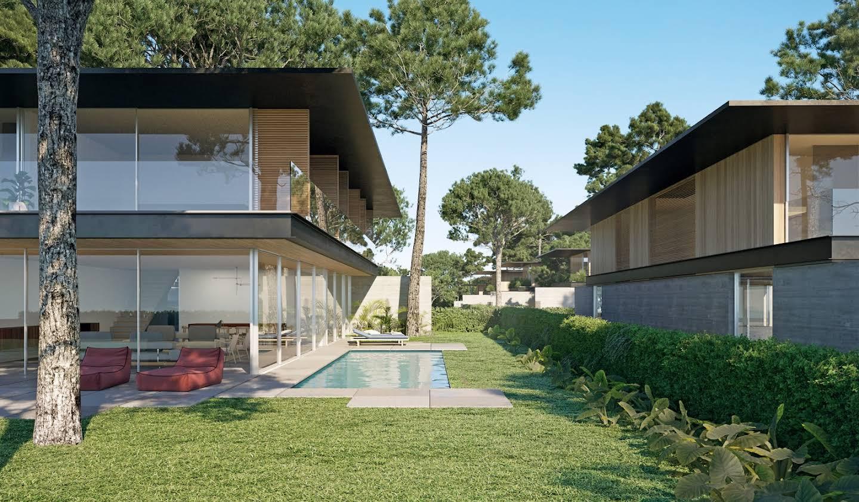 Maison contemporaine avec piscine et jardin Cascais