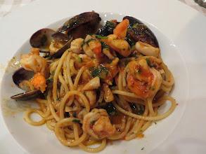 Photo: Fruiti de mare with spaghatti