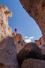 Photo: Hiking in Mojave National Preserve, California.