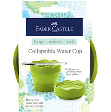 Faber Castell Mix & Match Collapsible Water Cup - Green