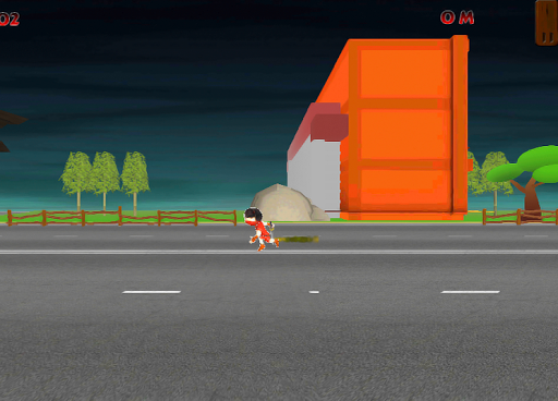 Amazing Ninja Kid Run
