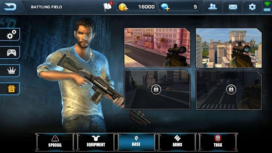 Scum Killing: Target Siege Shooting Game Screenshot