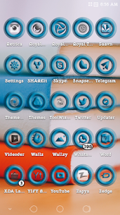 Royal Turquoise Icons Pack Screenshot