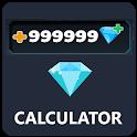 Diamonds Calculator for Gamers ML icon