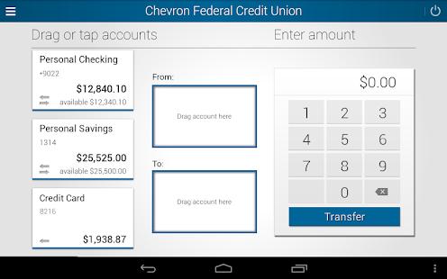 Chevron FCU Mobile Banking- screenshot thumbnail