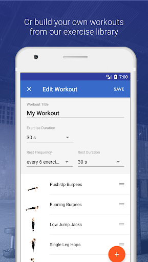 HIIT & Cardio Workout by Fitify  screenshots 5