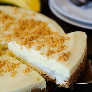 Banana Cream Pie Cheesecake.