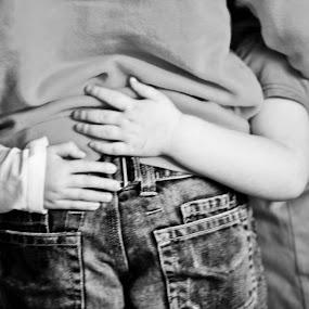 Big brother by Steve Weston - Babies & Children Hands & Feet ( pwchands-dq )