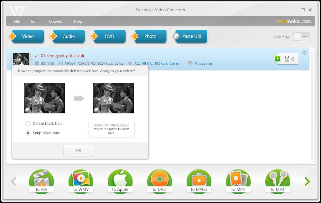 Phần mềm chuyển đổi video Freemake Video Converter Gold 4.1.9.96