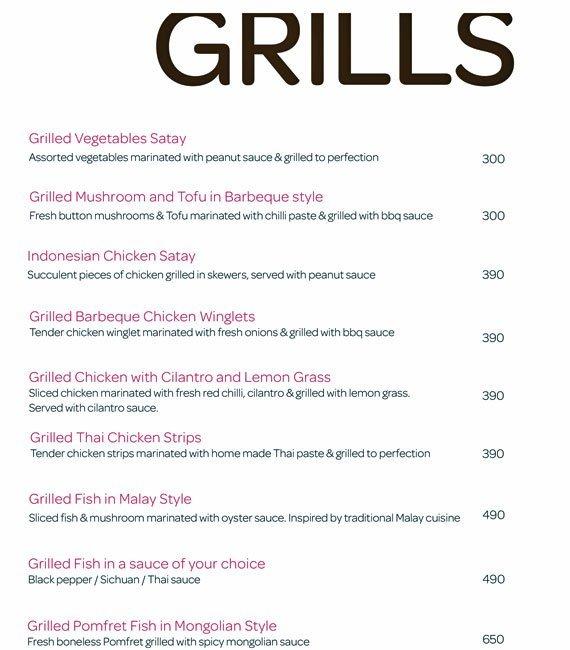 Fat Buddha menu 10