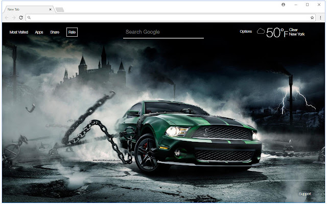 Ford Wallpapers HD New Tab Themes