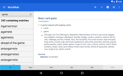 App Dictionary - WordWeb APK for Windows Phone