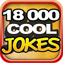 18,000 COOL JOKES icon