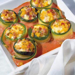 Zucchini-Mozzarella-Gratin