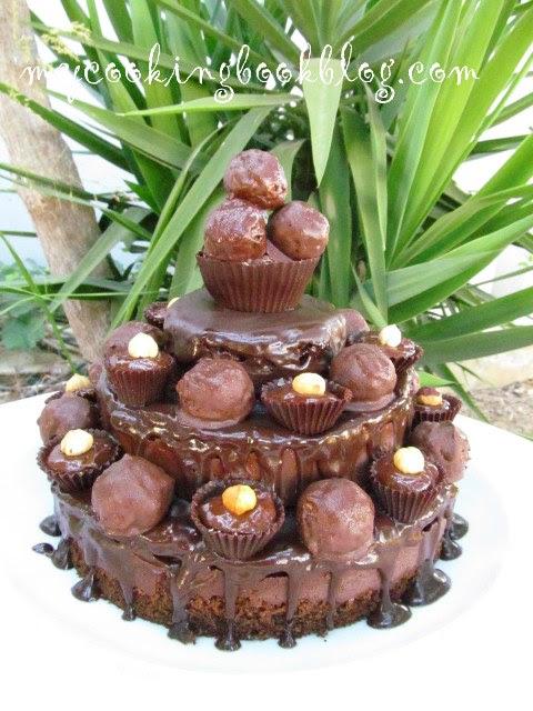 Торта Фереро Роше (Ferrero Rocher)