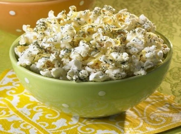 Lemon Dill Popcorn Recipe